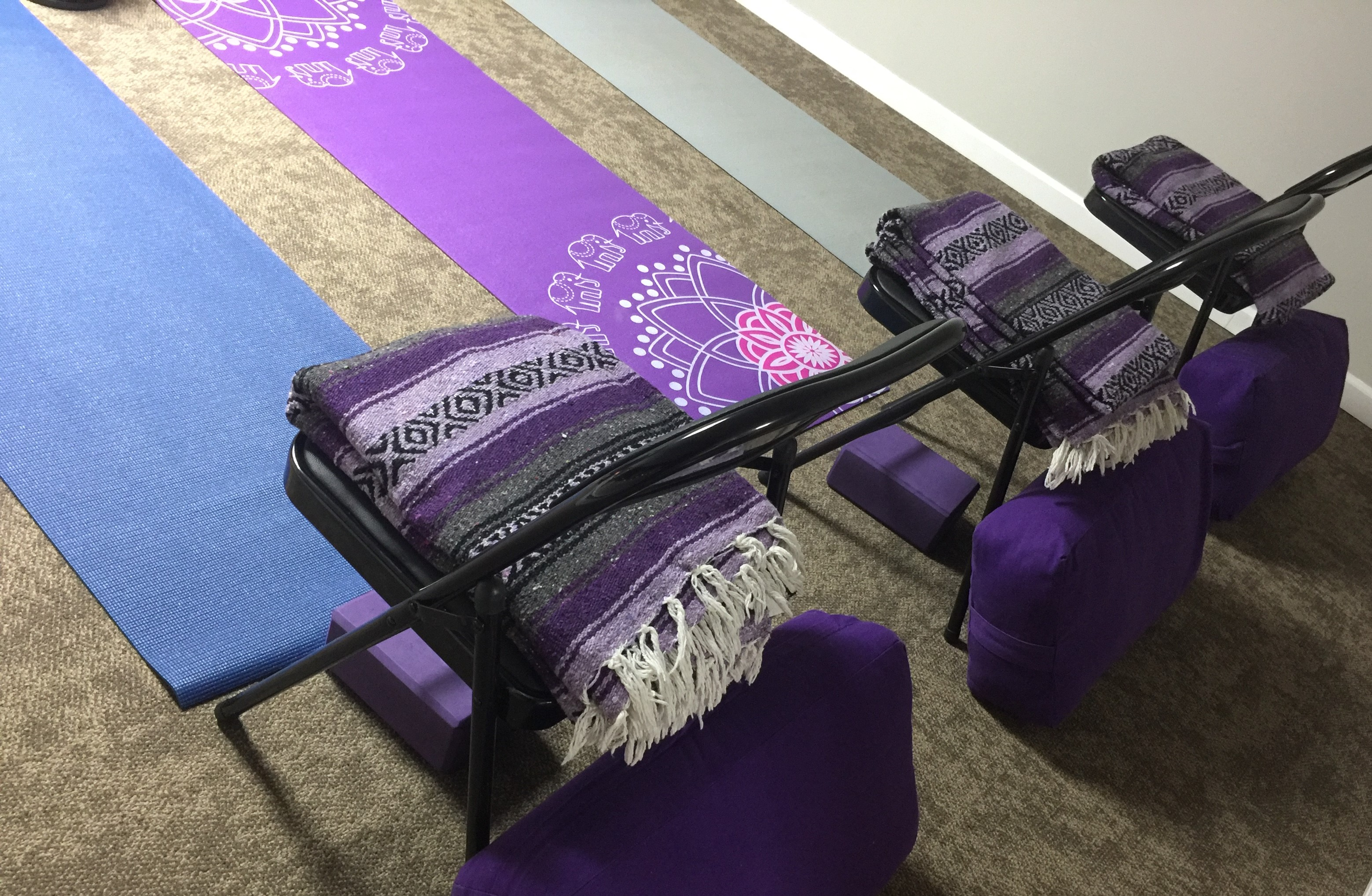 mBody center, chair yoga, cancer yoga, charlotte NC
